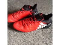 Adidas football boots 16.1 removable studs