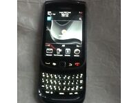 Blackberry torch touch screen with SIM card and charger