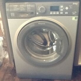 Hotpoint washing machine (silver)