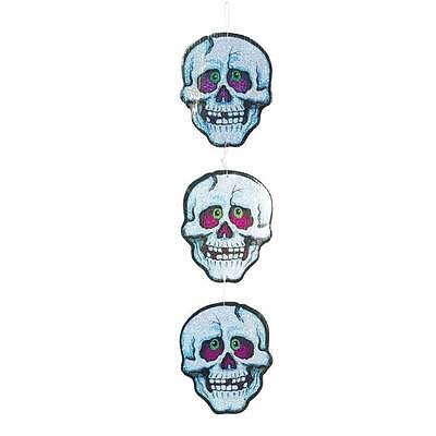 Day of the Dead Sugar Skull Heads Party Decoration Skeleton Face Halloween
