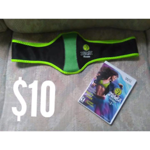 wii game zumba with belt