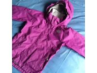 North face girls purple jacket size S/P