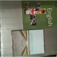 English Intersection and English Essentials book bundle
