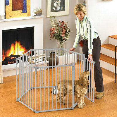 Big Metal Play Yard Playpen Pet Dog Child Baby 10 sq feet Secure Enclosure Gate