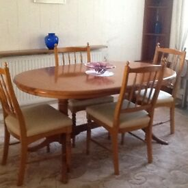 William Lawrence Table and Chairs