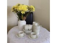 Churchill cups & saucers X 10