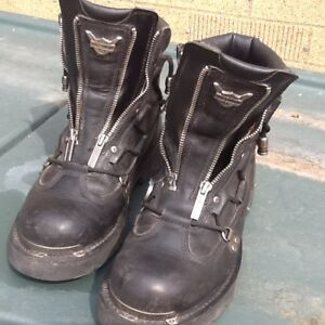 Harley Davidson motorcycle boots size9.5