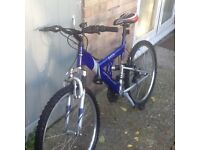 Bike £45 can deliver for petrol