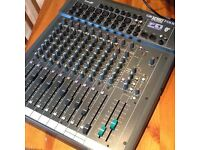 Sound craft Folio F1 mixer, 8x mic channels