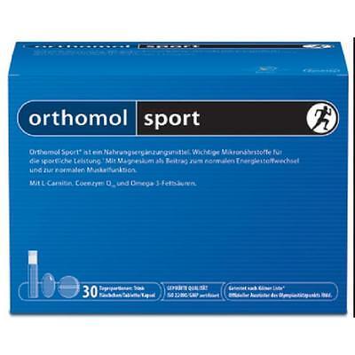 ORTHOMOL sport Trinkfläschchen 30 St. Monatspackung PZN 02943852 + GRATISPROBEN