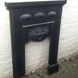 Original 1925 bedroom fireplace
