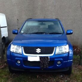 2007 Suzuki Grand Vitara 57 plate
