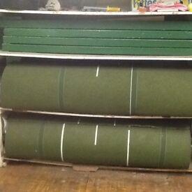 Indoor Bowling Mats - 4 mats at full length