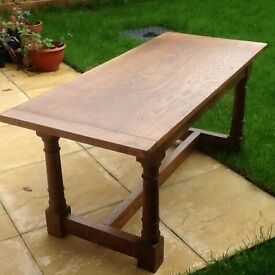 Solid medium Oak Coffee Table would be suitable in any traditional or contemporary home decor