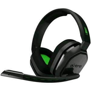 ASTRO Gaming A10 Gaming Headset - Black/Green works perfectly