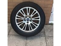 """NEW 17"""" FORD KUGA SPARE ALLOY WITH TYRE - 1 OFF"""