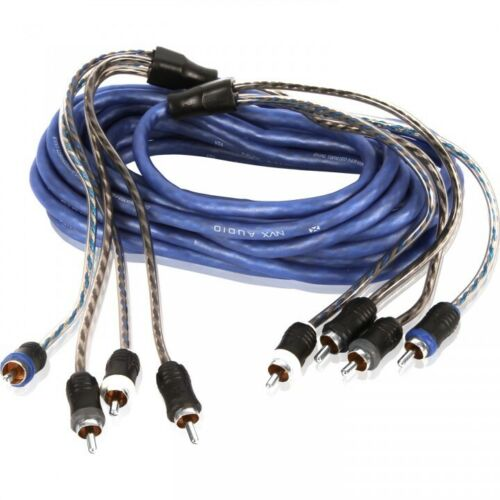 NVX XIV45 V-Series: 5m (16.40 ft) 4-Channel RCA Audio Interconnect Cable