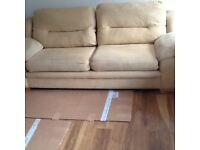 Twolarge sofas for sale (can be bought seperatly) very clean very good condition only £250 for both