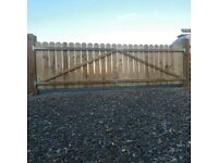 Fencing, Gates Supplied and Professionaly fitted.