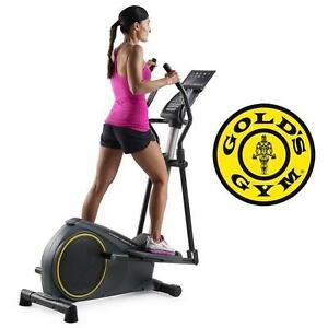 NEW* GOLD'S GYM STRIDE TRAINER ELLIPTICAL FITNESS TRAINER - EXERCISE EQUIPMENT WORKOUT MACHINE FITNESS GYM GYMS