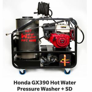 4000psi hot water pressure washer