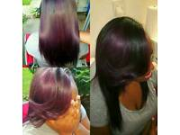 Professional weaves, Full weaves, closure or frontal weaves, weaves with leave out from £40
