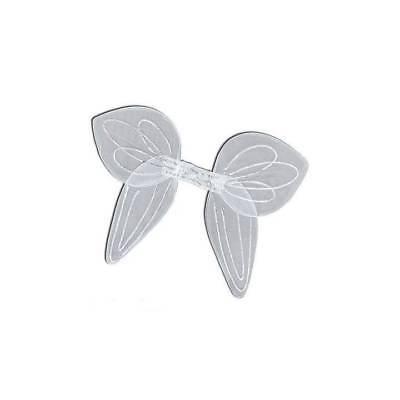 Weiß Glitzer Engel Fee Flügel Junggesellinnenabschied Weihnachten Kostüm