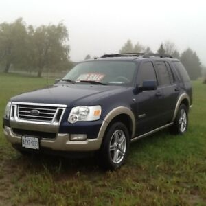 2008 Ford Explorer Eddie bower edition SUV, Crossover