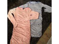 Two Baukjen Maternity Dresses