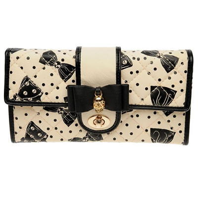 IRON FIST PURSE – BOWED OVER – BLACK AND WHITE - BRAND NEW WITH TAGS for sale  Shipping to South Africa