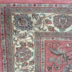 HAND CRAFTED PERSIAN STYLE WOOL AREA RUG