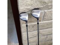 Taylormade 3 and 5 woods for sale.