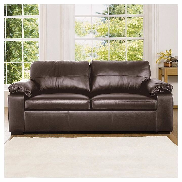 Tesco Direct Ashmore Leather 3 And 2 Seater Leather Sofa