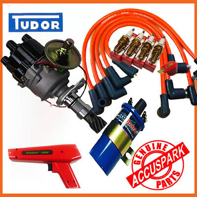 Ford X-Flow  Electronic Ignition Distributor performance Kit/FREE Timing Light
