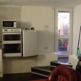 basement studio flat for rent