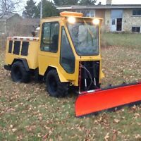 1999 MT5 Trackless snow plow