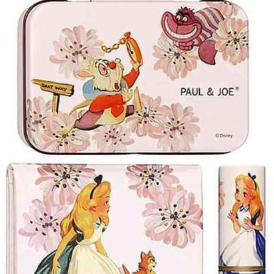 "Paul & Joe X Disney ""Alice in Wonderland"" Collection 2010 Cosmetics w/can New"
