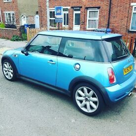 LOW MILEAGE 2002 MINI COOPER S