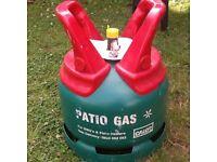 Calor 5kg patio gas bottle full