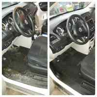 Affordable Interior Detailing Offered Here! $60.00
