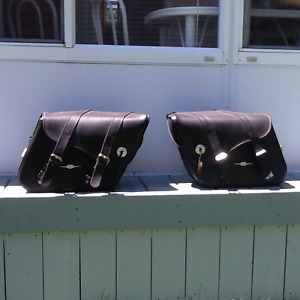 V Star Saddlebags for Yamaha motorcycle
