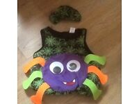 Brand New with tags..Kids age 2-5 Spider outfit ...BARGAIN