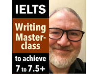 IELTS Writing Masterclass 7 to 7.5+ for Medics/Professional Qualifications & Uni Course Entrance