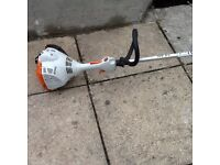 Garden petrol strummer Stihl FS 50 will sale with petrol can , sale for £100