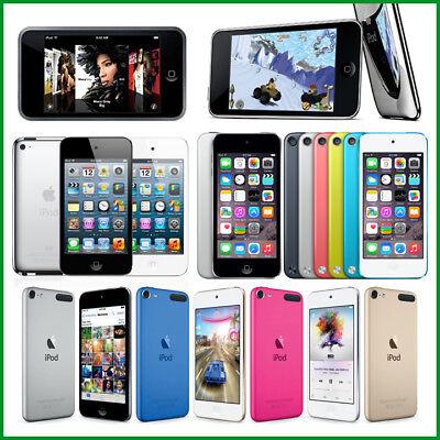 - Apple iPod Touch 1st, 2nd, 3rd, 4th, 5th, 6th Generation / 8GB, 16GB, 32GB, 64GB