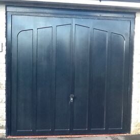 Cardale,Black garage up and over doors