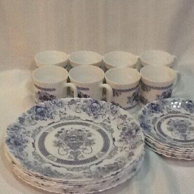Set of 23 Arcopal Honorine  France Dinnerware