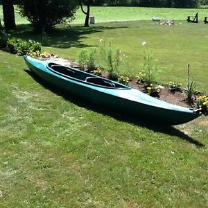Double seater, tandem, seats two kayak