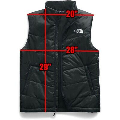 The North Face Men's Junction Insulated Vest Black Winter Sport 2XL NWT MSRP $89