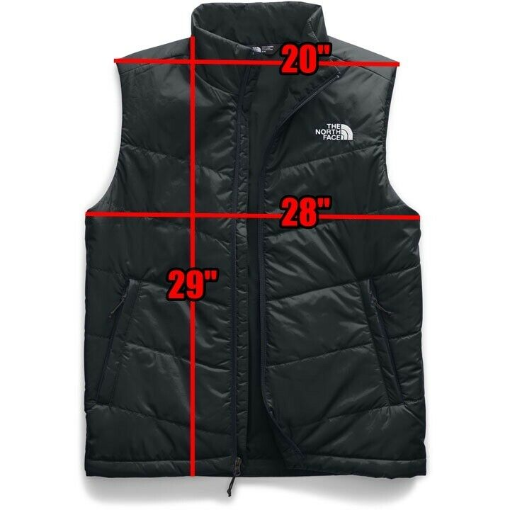 The North Face Men's Junction Insulated Vest Black Winter Sp